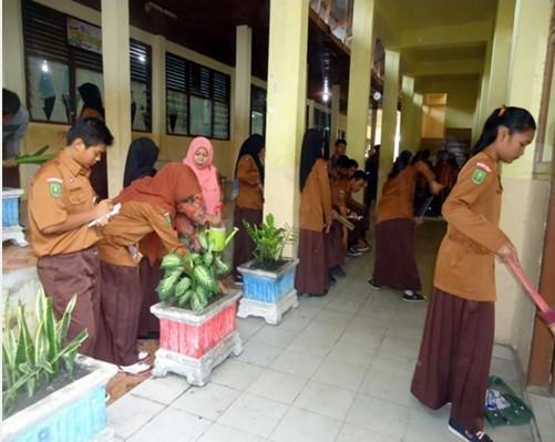 Gotong Royong Sma Negeri 6 Pekanbaru